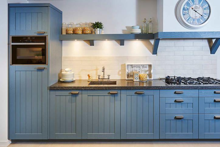 Landelijke keukens volledige ontzorging perfecte keuken arma - Welke kleur in een keuken ...