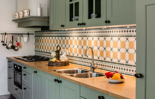 Landelijke Keuken Groen – Atumre.com