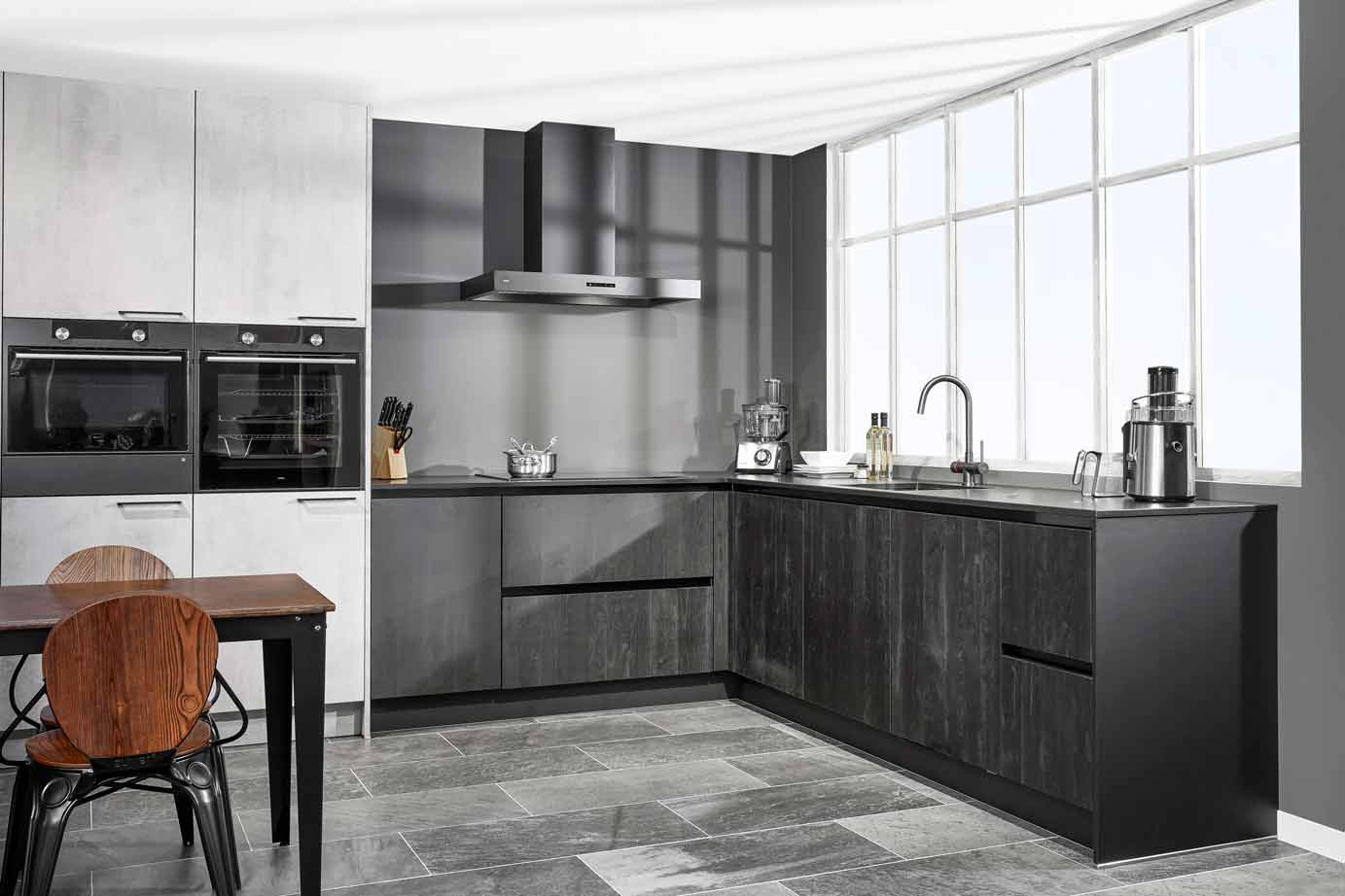 Recht Keuken Zwart : Zwarte keuken kopen bekijk tientallen voorbeelden arma